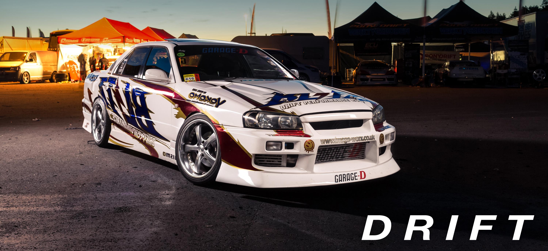 garage-d blitz er34 drift car