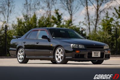 NISSAN SKYLINE R34 GTT 4-DOOR - MANUAL - RB25DET NEO