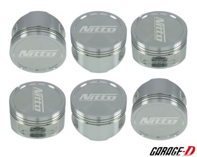 NITTO FORGED RB26 PISTONS