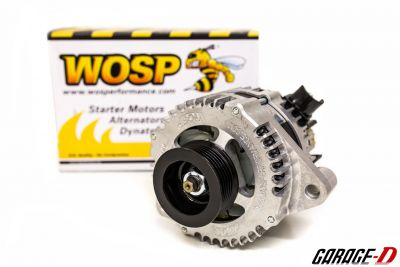 WOSP uprated alternator for Toyota JZ engines